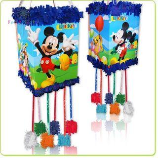 Piñata con antifaz de Mickey Mouse nueva