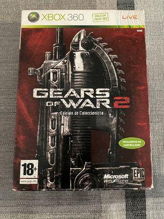 Gears of war 2 edición coleccionista xbox 360