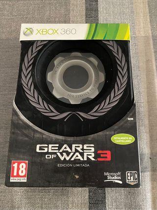 Gears of war 3 edición coleccionista xbox 360
