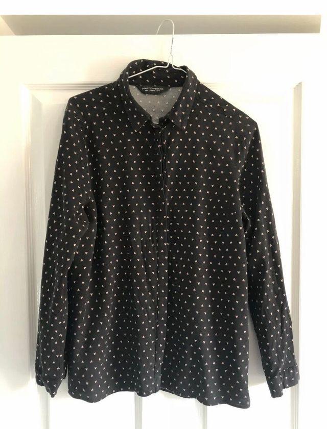 Black hearts shirt Size 12