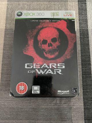 Gears of war 1 edición coleccionista xbox 360