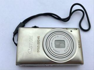 Cámara de fotos digital Canon IXUS 220HS