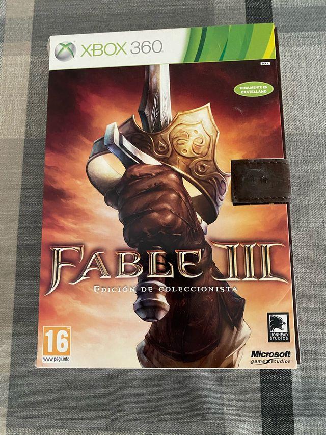 Fable 3 edición coleccionista xbox 360