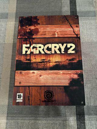 Far cry 2 edición coleccionista xbox 360