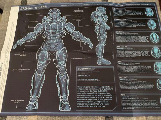 Halo 4 edición coleccionista xbox 360