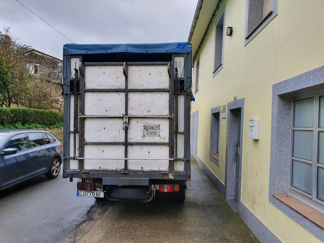 Camión de ganadería