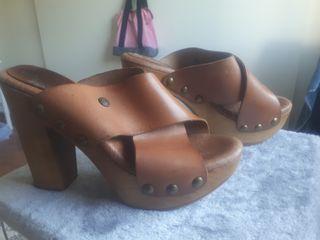 zapatos de piel (mas cinturon)