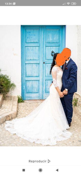Vestido de novia ( Cabotine )
