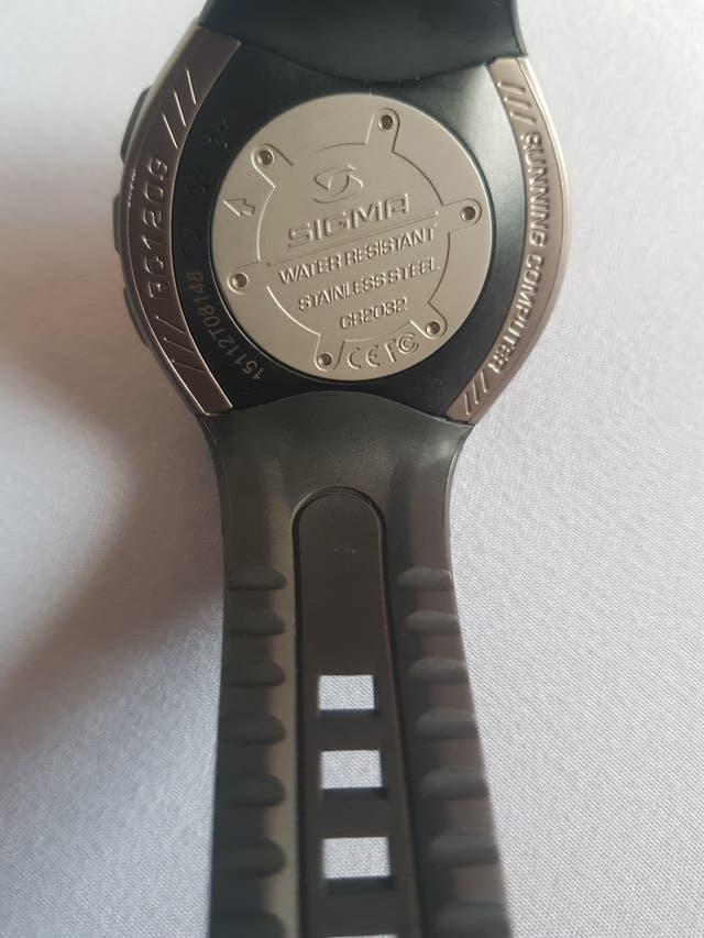 Reloj SIGMA RC 1209 Negro
