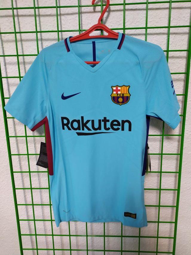 Camisetas futbol club Barcelona nike originales de segunda mano por 40 € en Agualejas en WALLAPOP