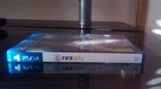 VENDO FIFA 18 PARA PLAY STATION 4