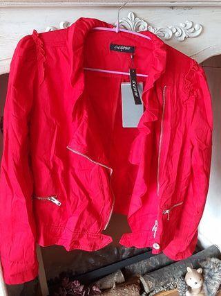 chaqueta roja t.S