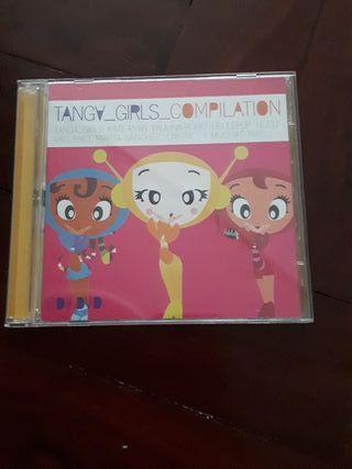 CD recopilatorio Tanga girls compilation