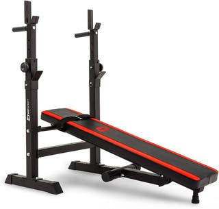 Weight bench & barbell rack