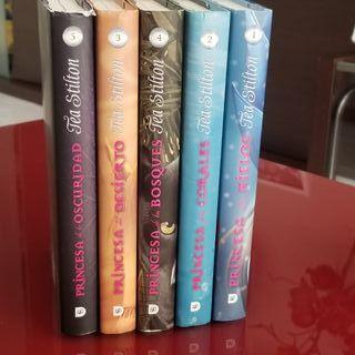 Libros Tea Stilton, colección Princesas