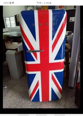 nevera/frigorífico nuevo smeg vintage
