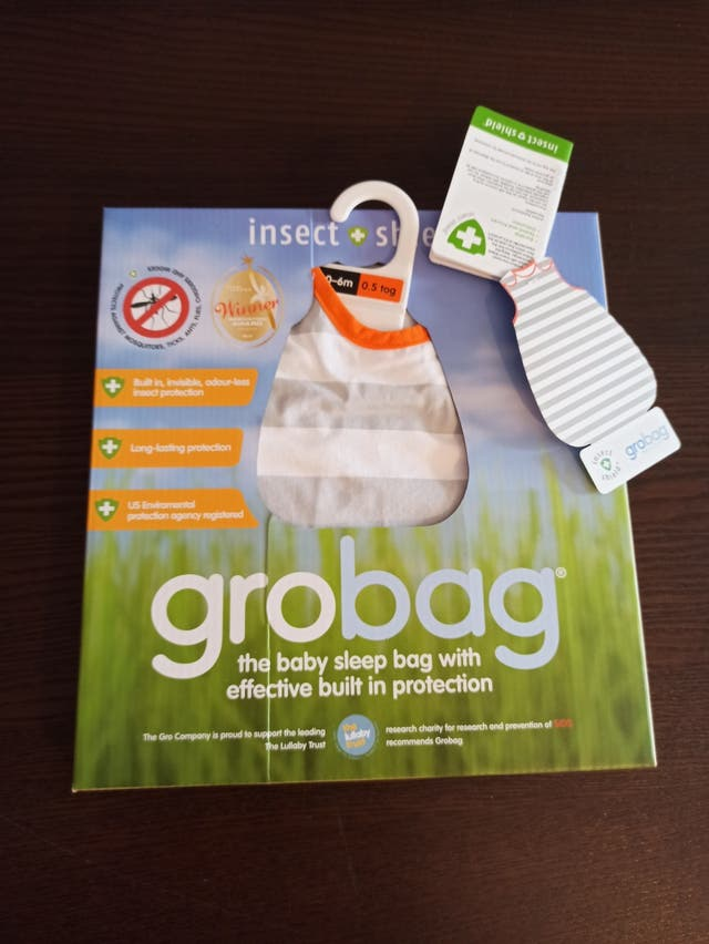 Grobag Anti insectos 0-6 m