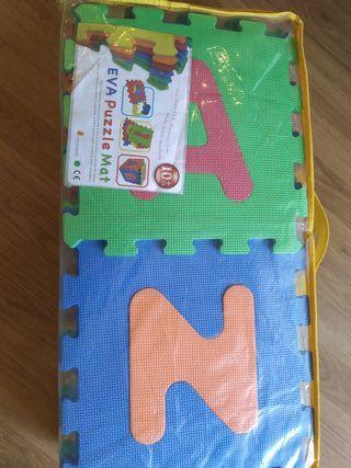 alfombra puzzle gomaespuma