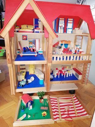 casa de muñecas Selecta Spielzeug.
