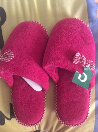 Zapatillas de estar por casa mujer n39