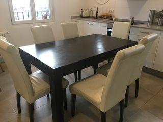 Mesa con Sillas de Salón-Comedor