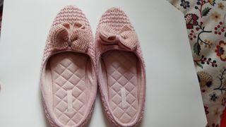 Zapatillas oysho de andar por casa, para mujer. es