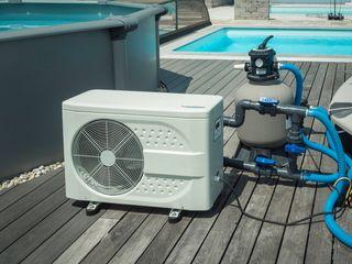 Bomba de calor reversible con instalación