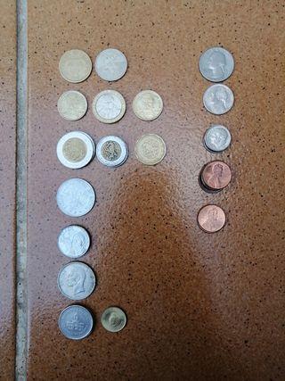 30 monedas Americanas