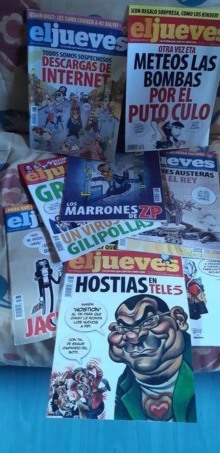 Revistas El jueves