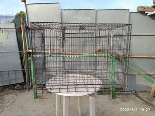 jaula para transporte de perros
