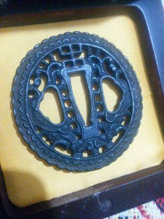 antigua tsuba namban