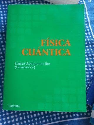 libro física cuántica Carlos Sánchez del Rio