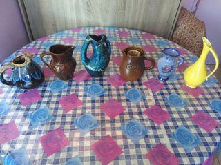 Lot de carafes céramique