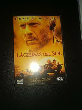 DVD - LÁGRIMAS DEL SOL