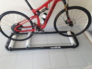 Rodillo bici btt carretera rulos equilibrio