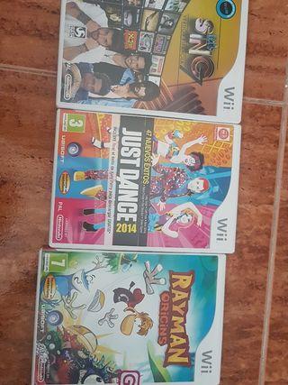 juegos para Wii