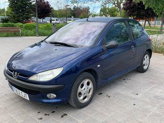 Peugeot 206 1.4 diésel bajo consumo 70cv
