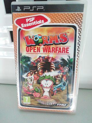 psp worms open warfare