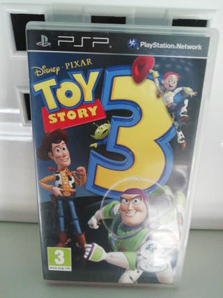 psp Toy story 3