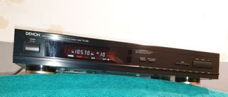Sintonizador de radio DENON TU-260 , FM/AM
