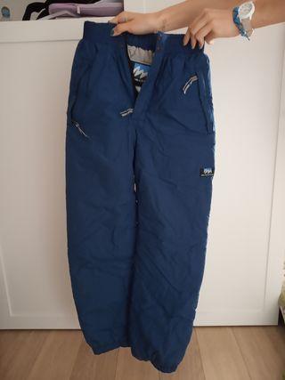 Pantalon de ski bleu