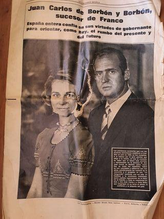 periódico antiguo