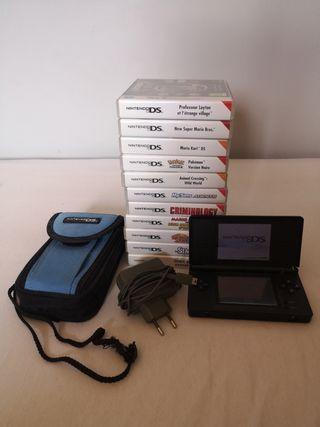 2 Nintendo DS + 18 jeux