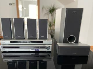 Home Cinema con DVD Sony Master 1000W
