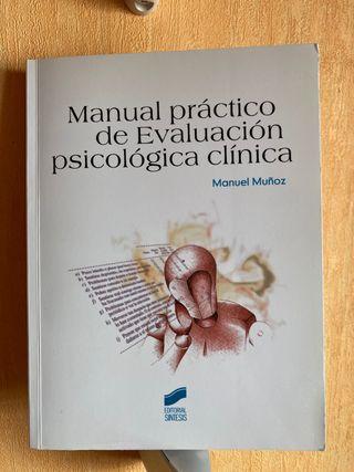 Manual práctico de evaluación psicológica clinica
