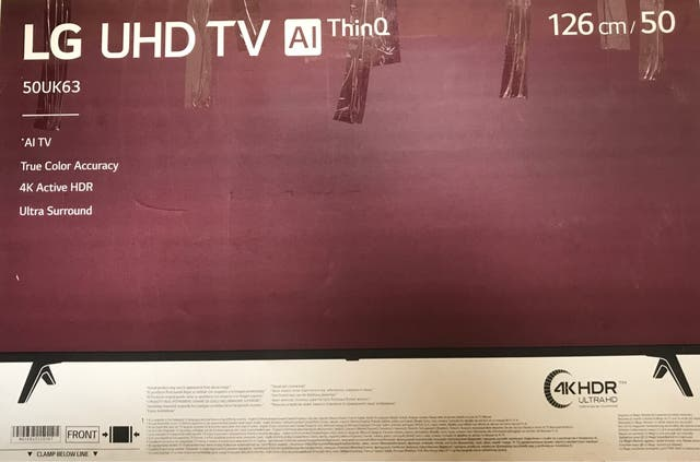Smart TV LG UHD 50UK63 AI thinQ