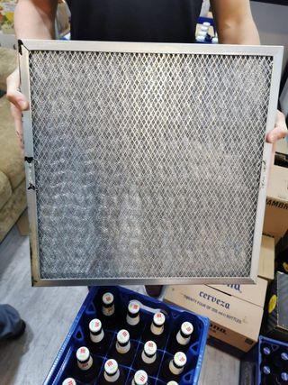 Filtro campana malla 39x49x5cm galvaniza