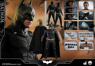 HOT TOYS 1/4 BATMAN BEGINS SOLO CAMBIO