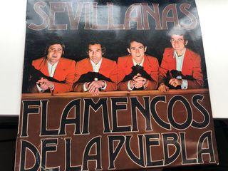 Vinilo flamencos de la puebla