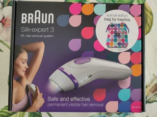 Braun Silk-expert 3 Depiladora Laser NUEVA